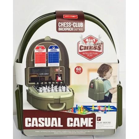 Рюкзак с Настольными Играми 4в1 7F707