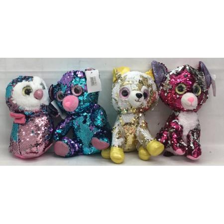 Мягкие Игрушки из Пайеток 1161-1