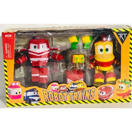 Робот-Поезд Набор (2 вида) 818821