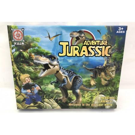 Конструктор Динозавры 96 дет. 20-10