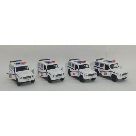 Машинки Полиция Металл (свет/звук) 6218P-12