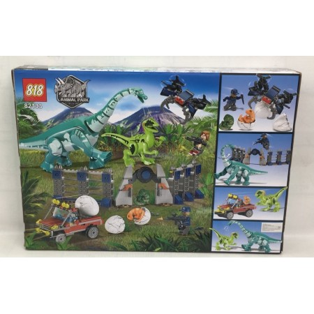 Конструктор Динозавры 485 дет. 82133
