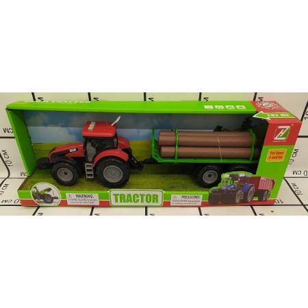 Трактор с Прицепом (свет/звук) 550-52J