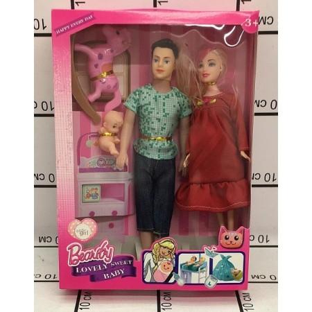 Куклы Семья 6626B4