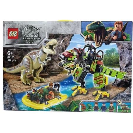 Конструктор Динозавры 526 дет. 82153