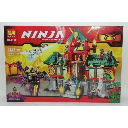 Конструктор Ниндзя 1223 дет. 9797