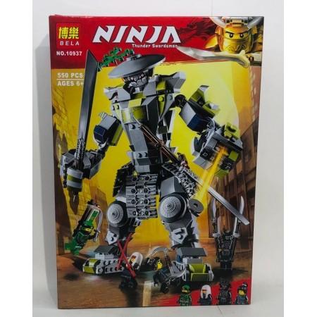 Конструктор Ниндзя 550+ дет. 10937
