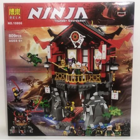 Конструктор Ниндзя 809 дет. 10806
