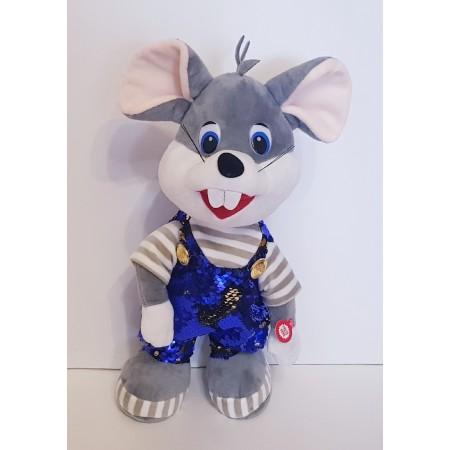 Мягкая игрушка Мышка (2 песни,танцует) 8218