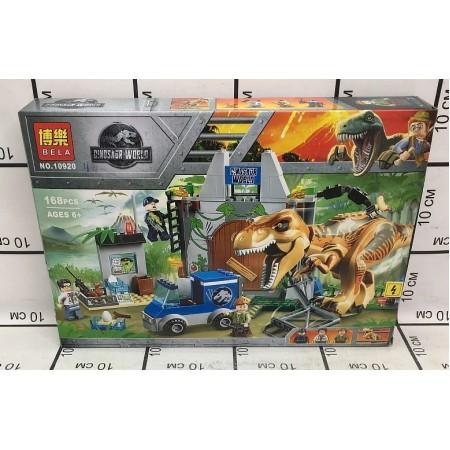 Конструктор Динозавры 168 дет. 10920