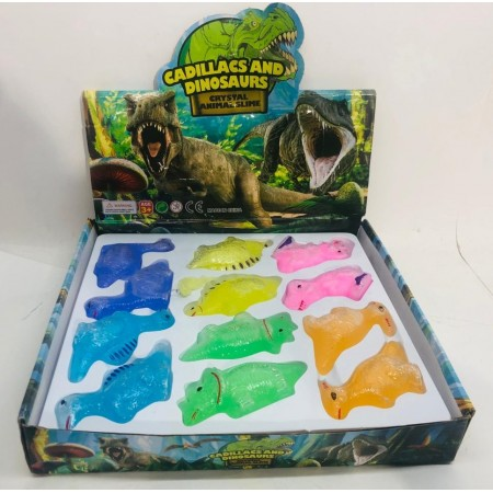 Лизун Динозавры 24 шт. SLM-25