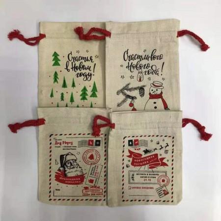Мешок для новогодних подарков 5-B