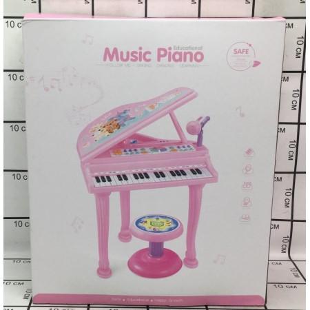 Рояль с Микрофоном и стулом CY-7035B