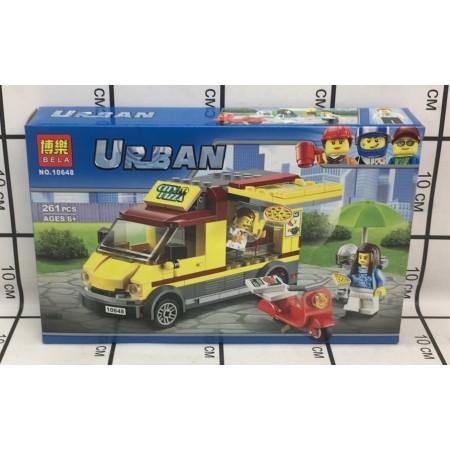 Конструктор Urban 261 дет. 10648