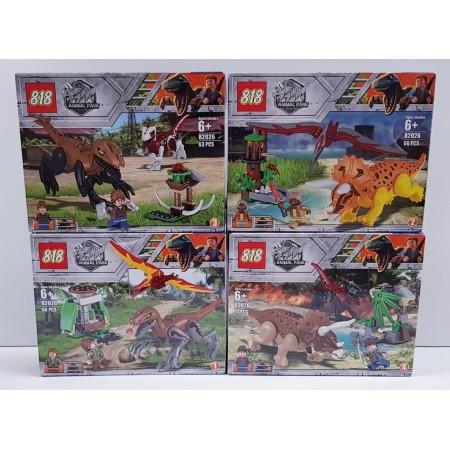 Конструктор Динозавры 82026