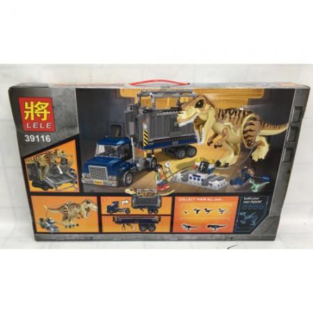 Конструктор Динозавры 631 дет. 39116