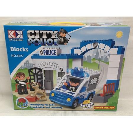 Конструктор Блоками Городская полиция 39 дет. 5027