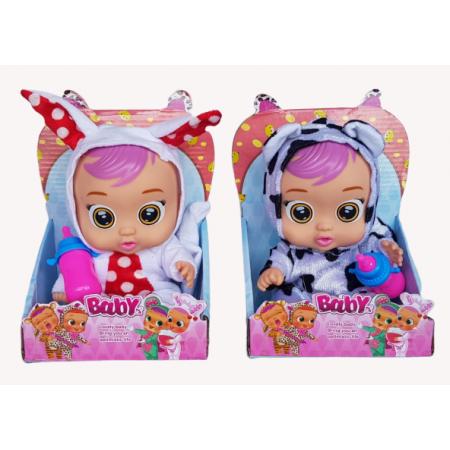 Плачущий Младенец с Бутылочкой (звук) D3358