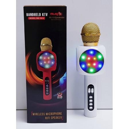 Микрофон Караоке Bluetooth WS1816-2