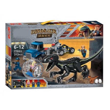 Конструктор Динозавры 312 дет. 77053