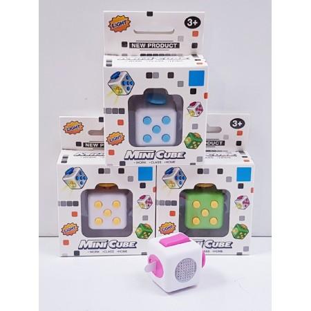 Антистресс Кубик (свет) XJ99
