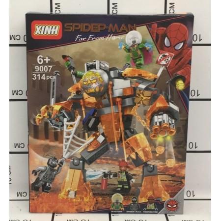 Конструктор Человек-Паук 314 дет. 9007