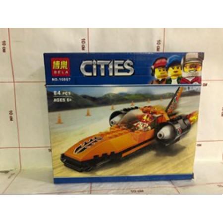 Конструктор Cities 84 дет. 10867