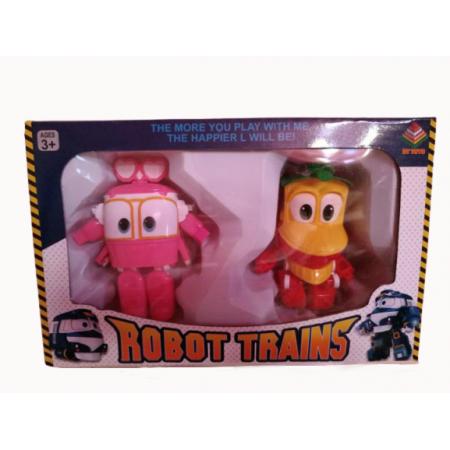 Робот-Поезд Набор 2 шт. DT-005-2
