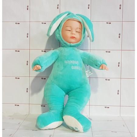 Пупс спящий (разные цвета)  W90-55