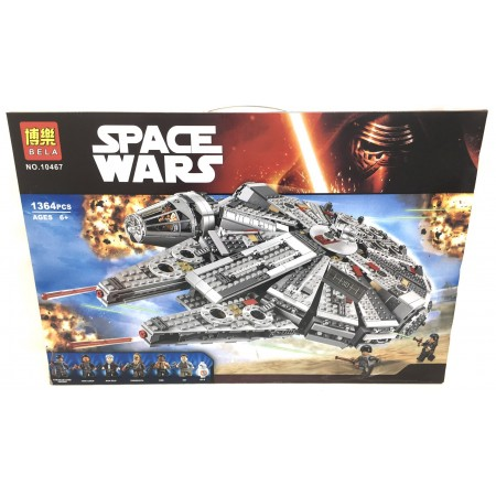 Конструктор Звездные Воины 1364 дет. 10467