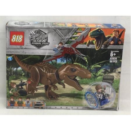 Конструктор Динозавры 86 дет. 82028