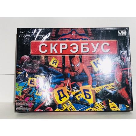 Скрэбус Настольная Игра 0116R-1
