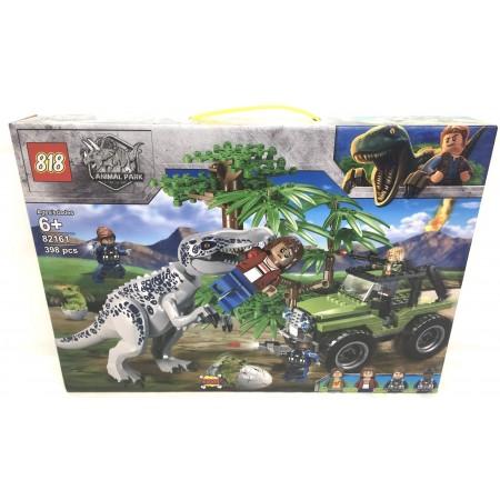 Конструктор Динозавры 398 дет. 82161