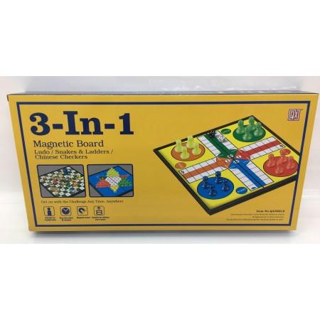 Настольная Игра 3в1 на Магнитной Доске QX58812