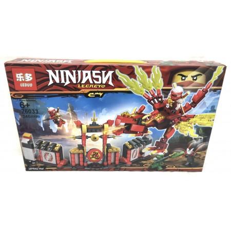 Конструктор Ниндзя 346 дет. 76033