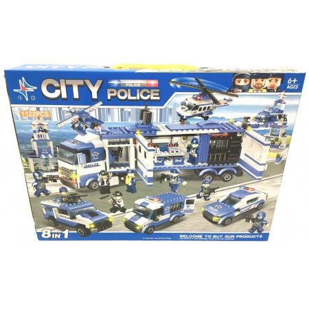 Конструктор Полиция 1122 дет. LXA322