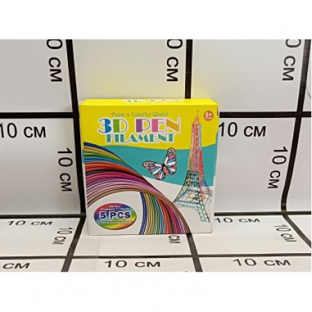 Стержни для 3Д ручки Набор 5 цветов 9900