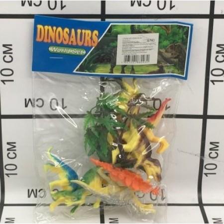 Динозавры Набор D2018-8