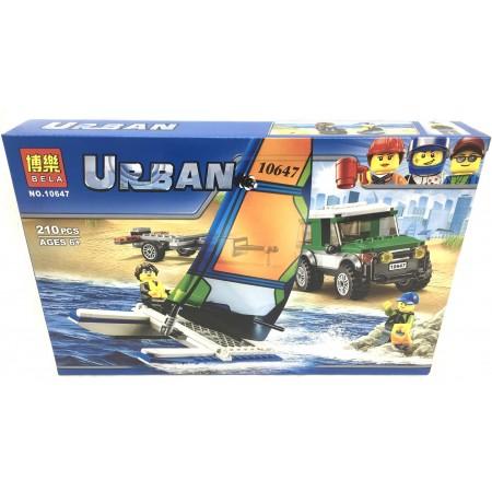 Конструктор Urban 210 дет. 10647