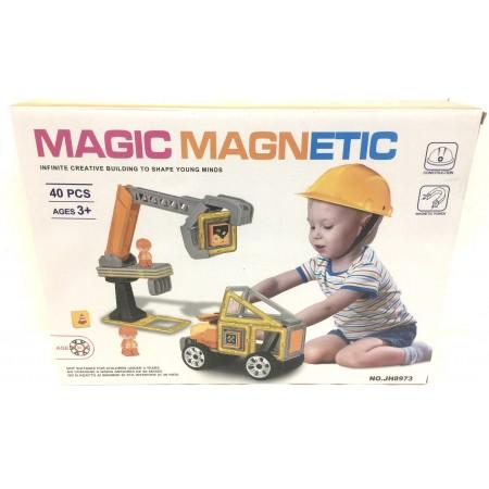 Конструктор Магнитный 40 дет. JH8973