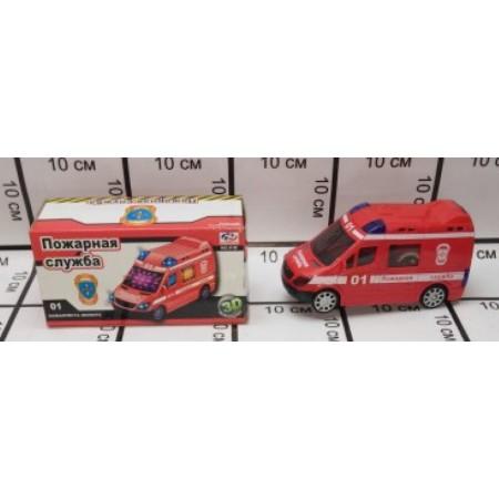 Пожарная Машина (свет/звук) 01b