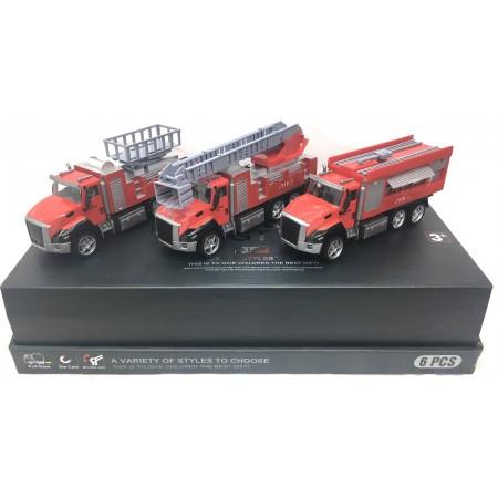 Машина Пожарная 6 шт. 2213-6A