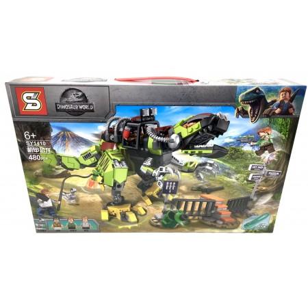 Конструктор Динозавры 480 дет. SY1410