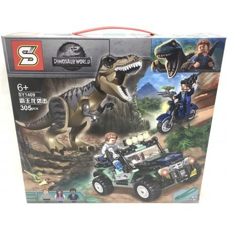 Конструктор Динозавры 305 дет. SY1409