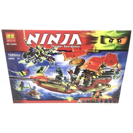 Конструктор Ниндзя 1265 дет. 10402