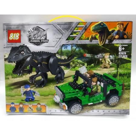 Конструктор Динозавры 277 дет. 82029