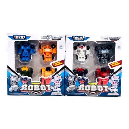 Роботы-Трансформеры Набор 338-4P