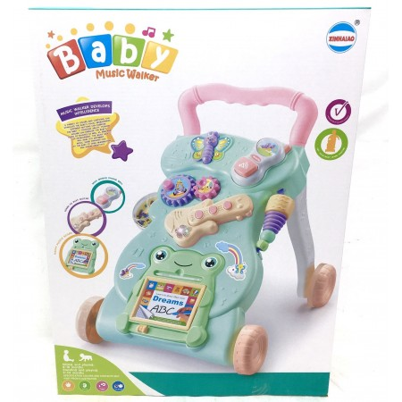 Музыкальная Каталка Для Малышей 999A