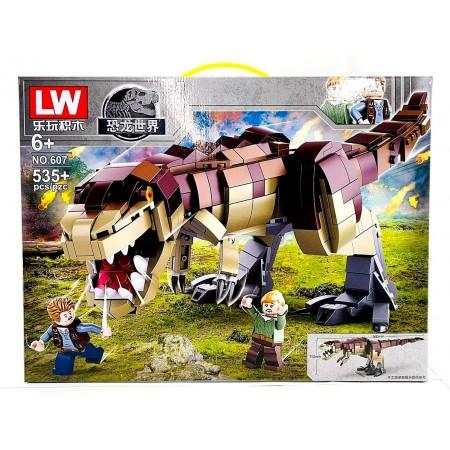Конструктор Динозавры 535 дет. LW607