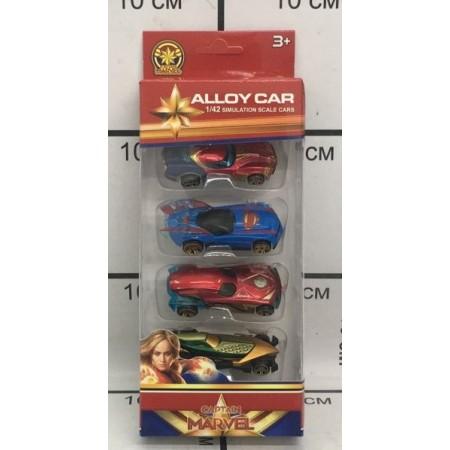 Машинки Супер Герои Набор 0618B
